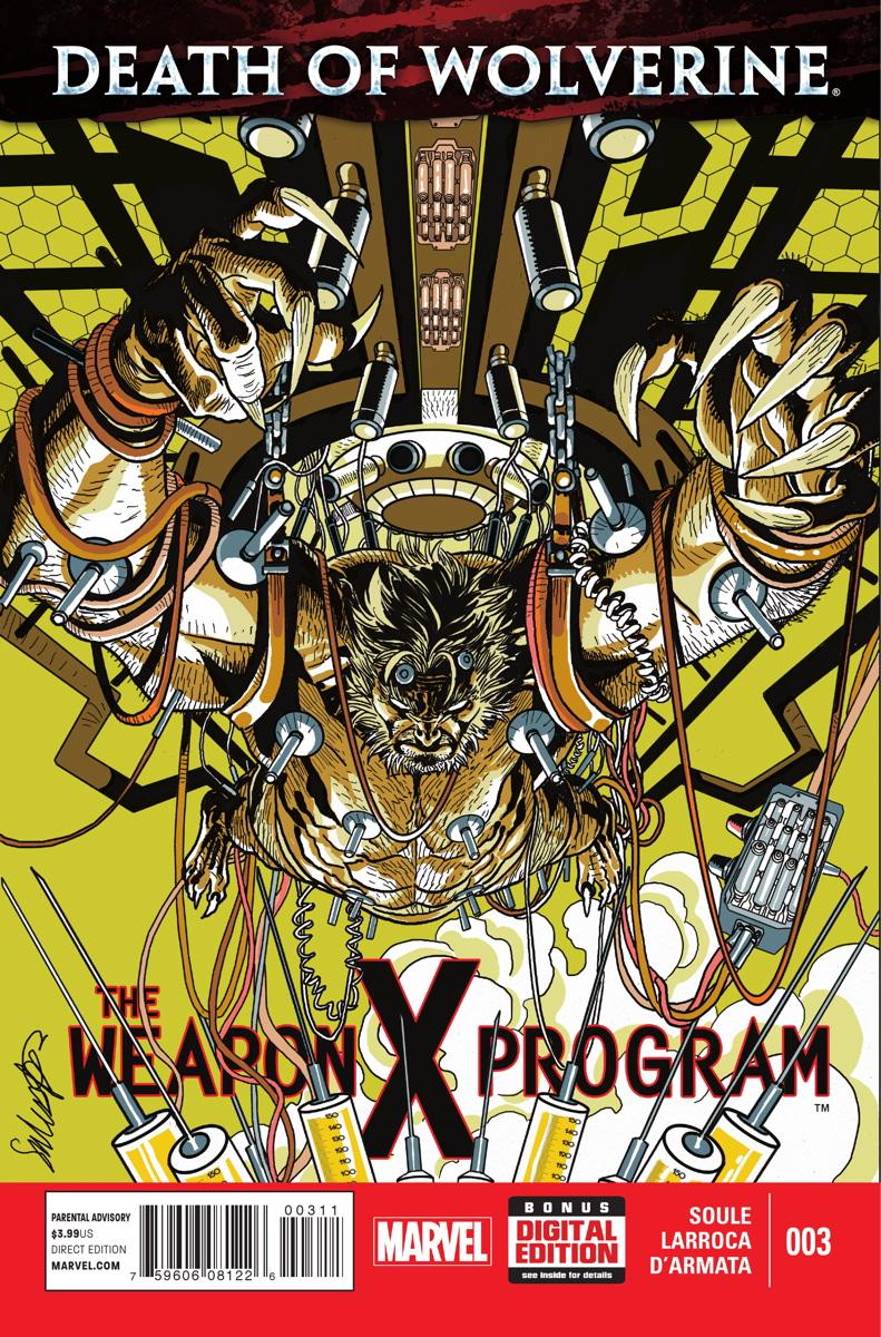 A Morte do Wolverine: O Programa Arma X Vol 1 3