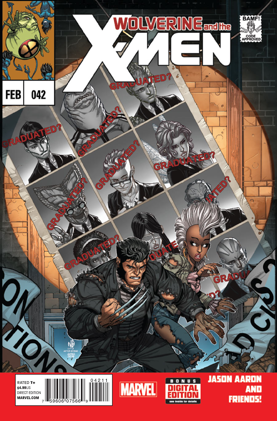 Wolverine e os X-Men Vol 1 42