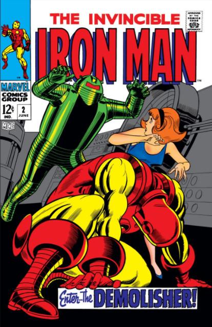 Homem de Ferro Vol 1 2
