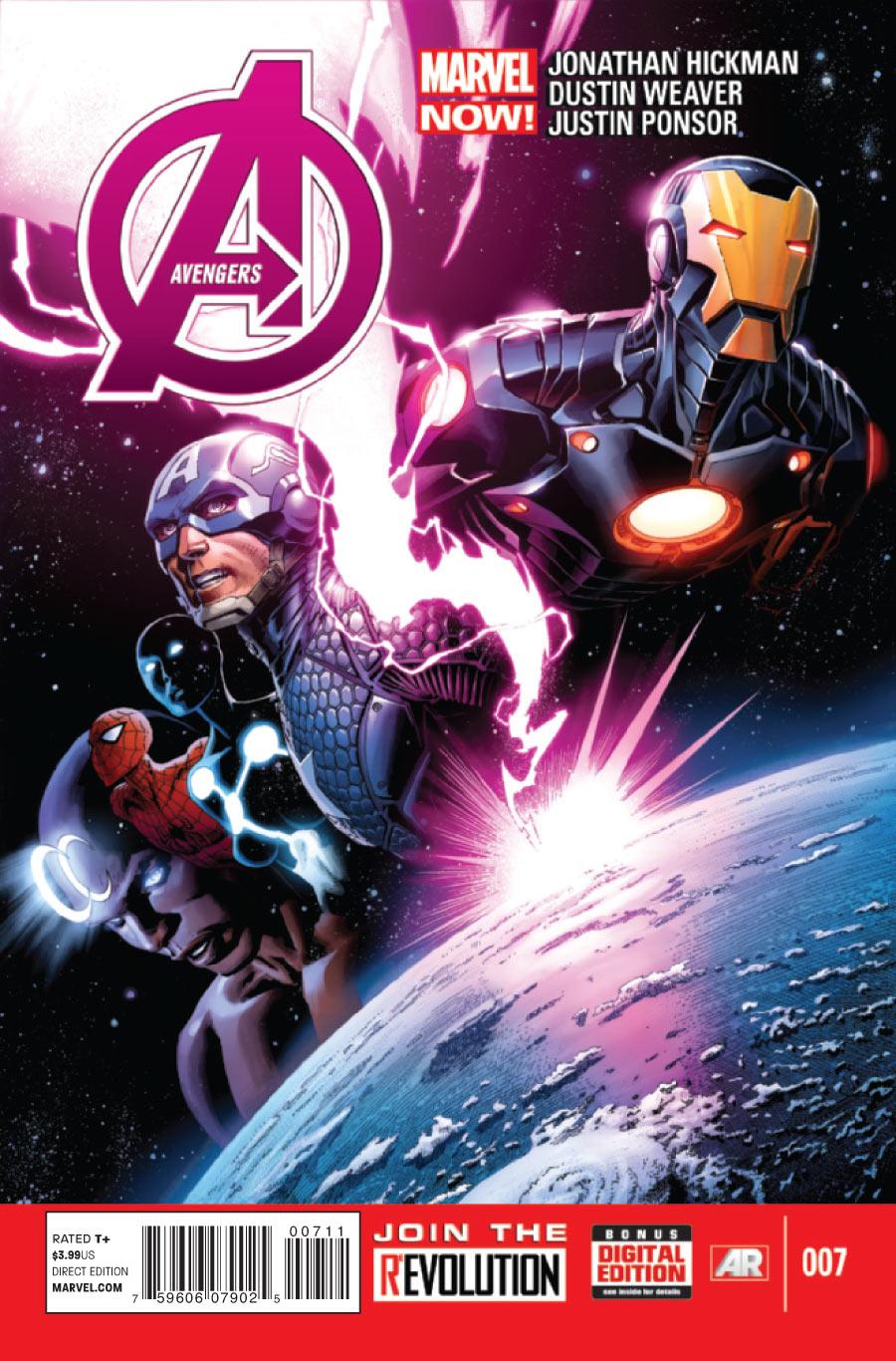 Os Vingadores Vol 5 7