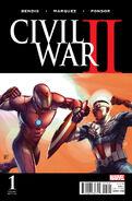 Civil War II Vol 1 1 McNiven Variant