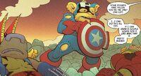 Spider-Ham Vol 1 4 Captain Americat after defeat.jpg