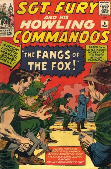 Sgt Fury e seu Comando Selvagem Vol 1 6