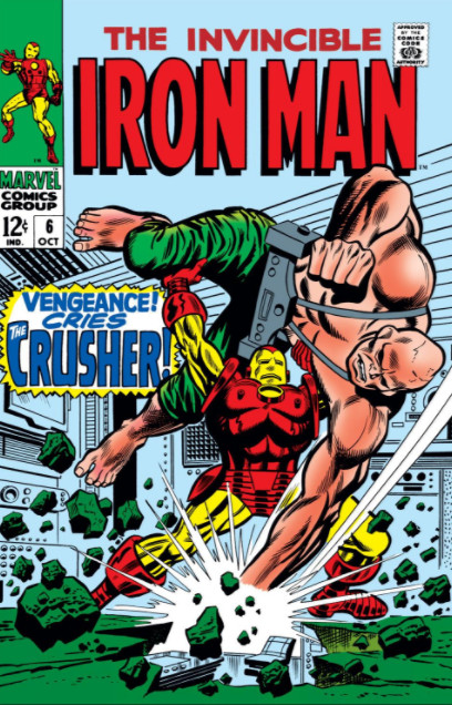 Homem de Ferro Vol 1 6