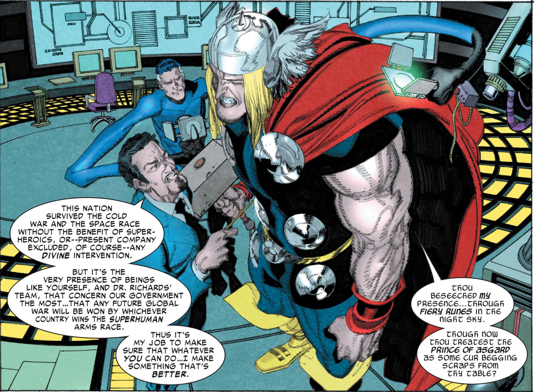 Thor Odinson (Terra-616)/Galeria