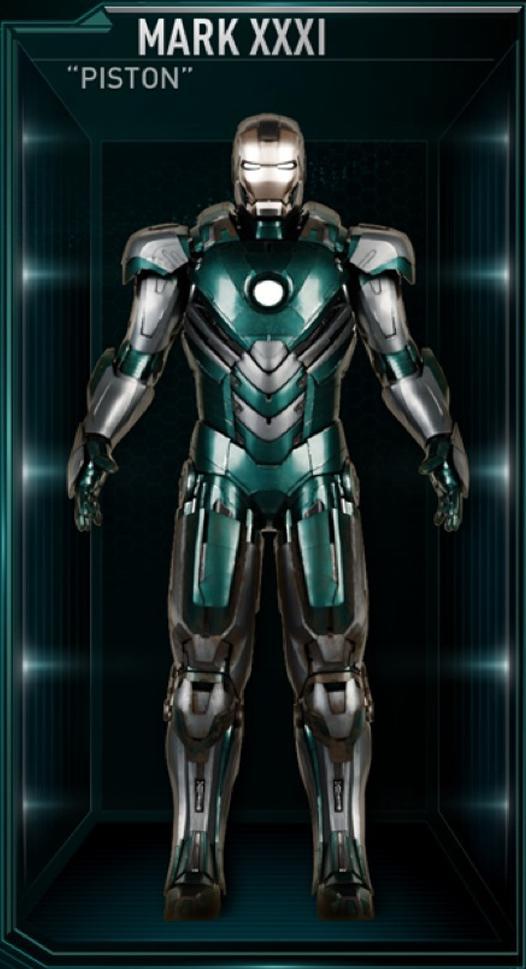 Armadura de Iron Man MK XXXI (Tierra-199999)