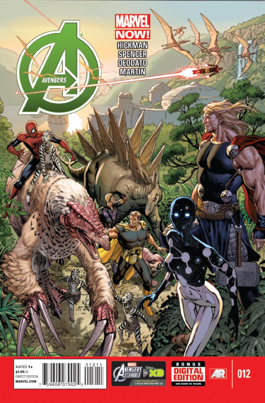 Os Vingadores Vol 5 12