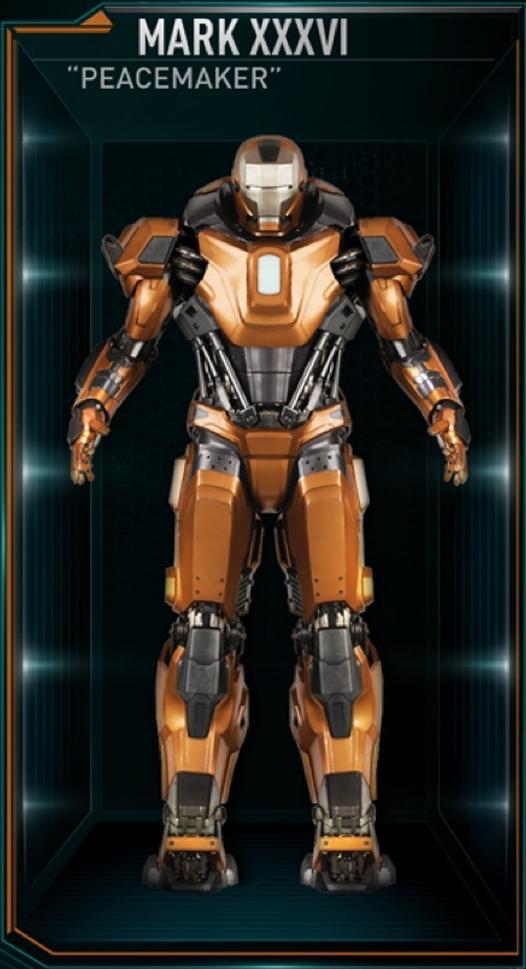 Armadura de Iron Man MK XXXVI (Tierra-199999)