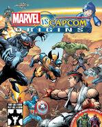 Marvel vs Capcom Origins - Key Art