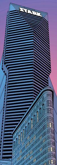 Stark Tower (Flatiron District) from Iron Man Vol 3 1 001.jpg