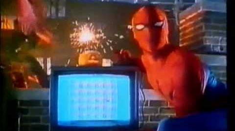 Parker Brothers Atari VCS 2600 video game commercial - Spider-Man & Amidar