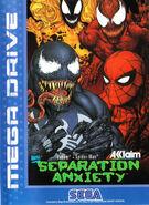 Spider-Man and Venom - Separation Anxiety Coverart SEGA MD