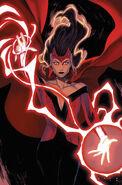 Wanda Maximoff (Tierra-616) en Scarlet Witch Vol 2 2 Cubierta Variante Sin Texto