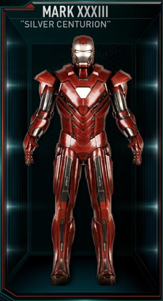 Armadura de Iron Man MK XXXIII (Tierra-199999)