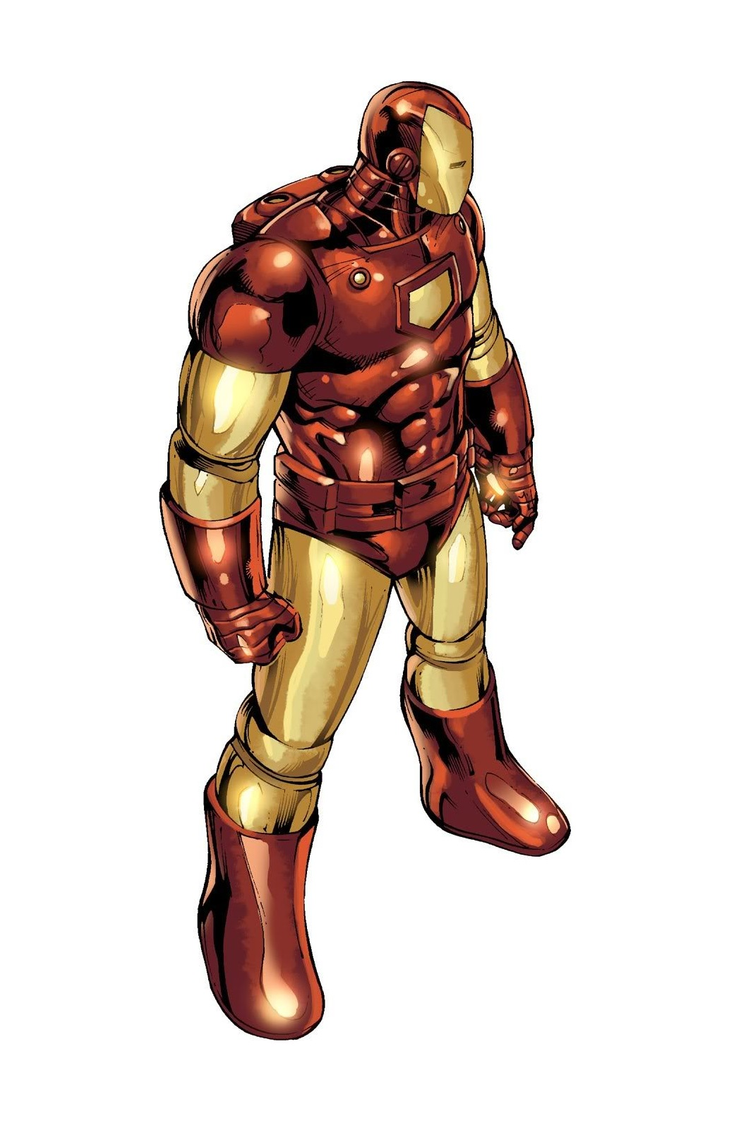 Armadura do Homem de Ferro Modelo 5