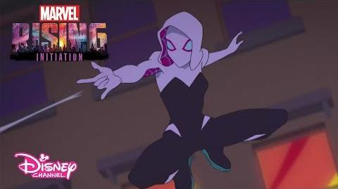 Misión Cazar a un Fantasma Marvel Rising Initiation 1