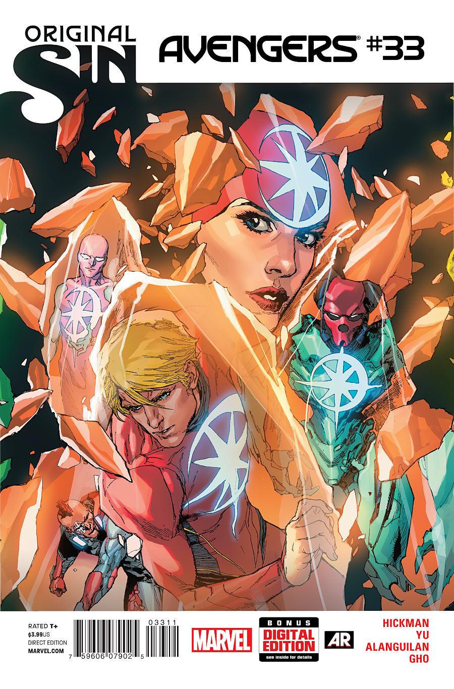 Os Vingadores Vol 5 33