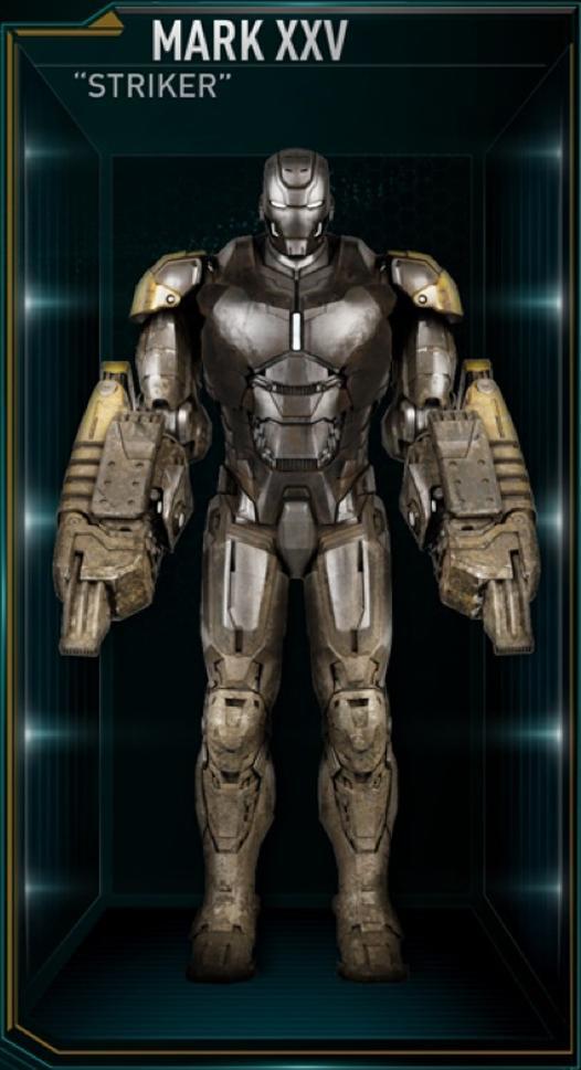Armadura de Iron Man MK XXV (Tierra-199999)