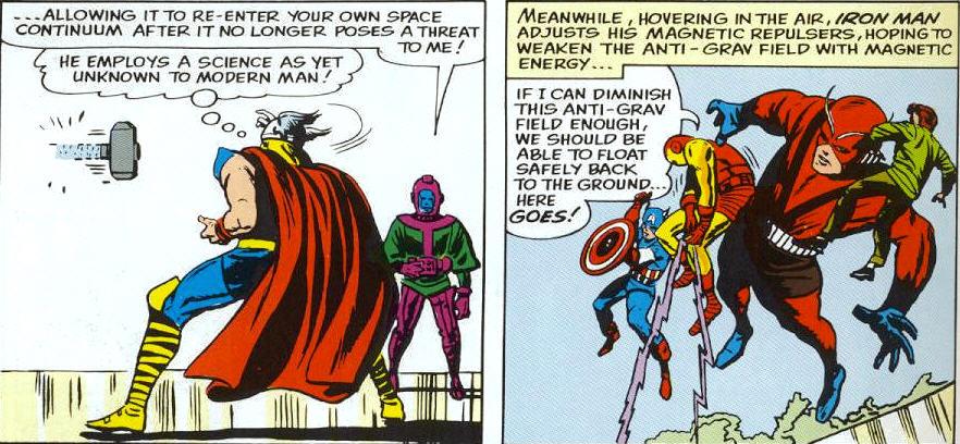 Nathaniel Richards (Kang) (Earth-6311) vs Avengers (Earth-616) from Avengers Vol 1 8 0002.jpg