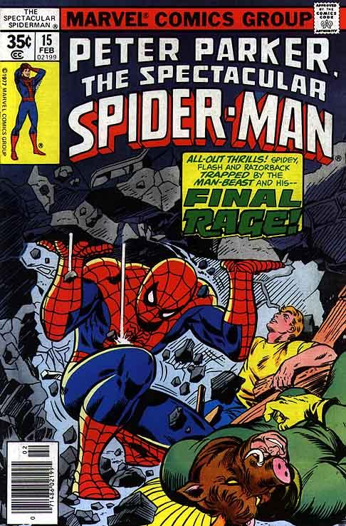 Peter Parker, O Espetacular Homem-Aranha Vol 1 15