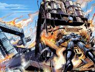Ultimate X-Men Vol 1 10 Pyotr Rasputin is stopping train