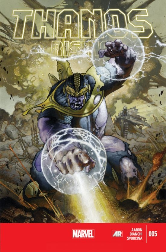 A Ascensão de Thanos Vol 1 5