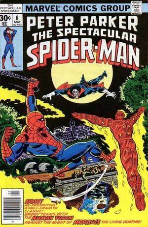 Peter Parker, O Espetacular Homem-Aranha Vol 1 6.jpg