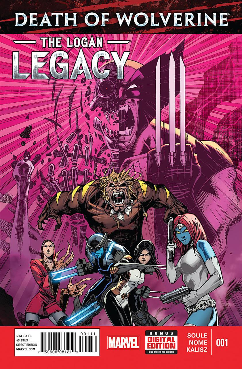 A Morte do Wolverine: O Legado de Logan Vol 1 1