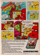 Spider-Man (Atari 2600) game ad - better color