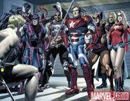 New Avengers Annual Vol 1 3 page 2-3 Avengers (Dark Avengers) (Earth-616)