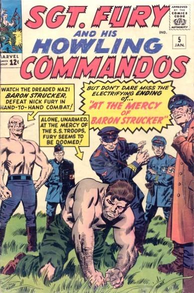 Sgt Fury e seu Comando Selvagem Vol 1 5