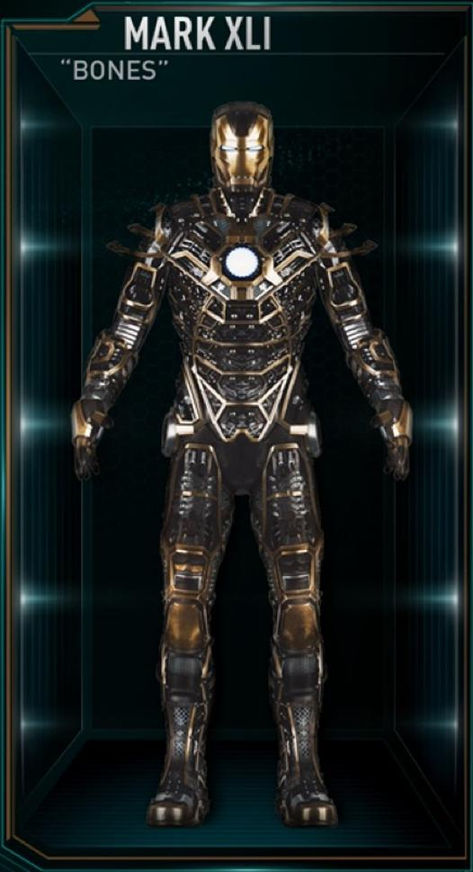 Armadura de Iron Man MK XLI (Tierra-199999)