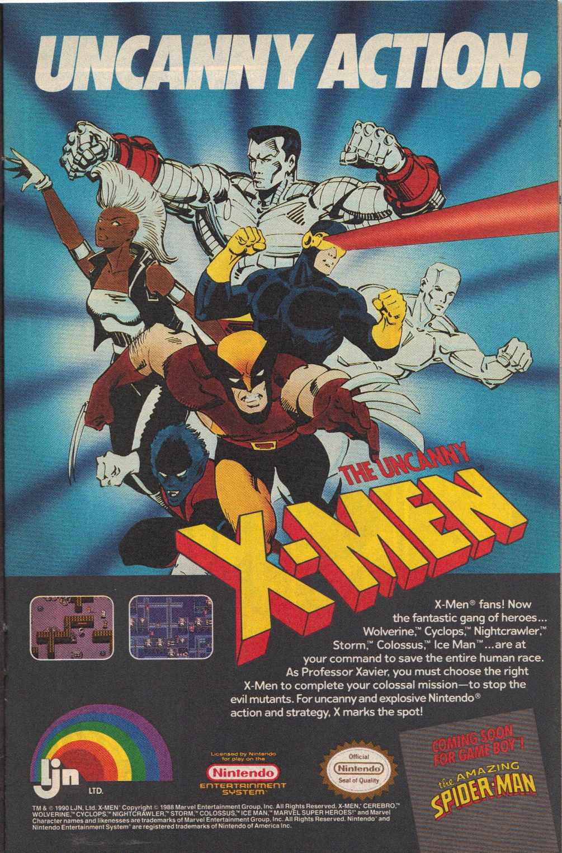 The Uncanny X-Men (videojuego)