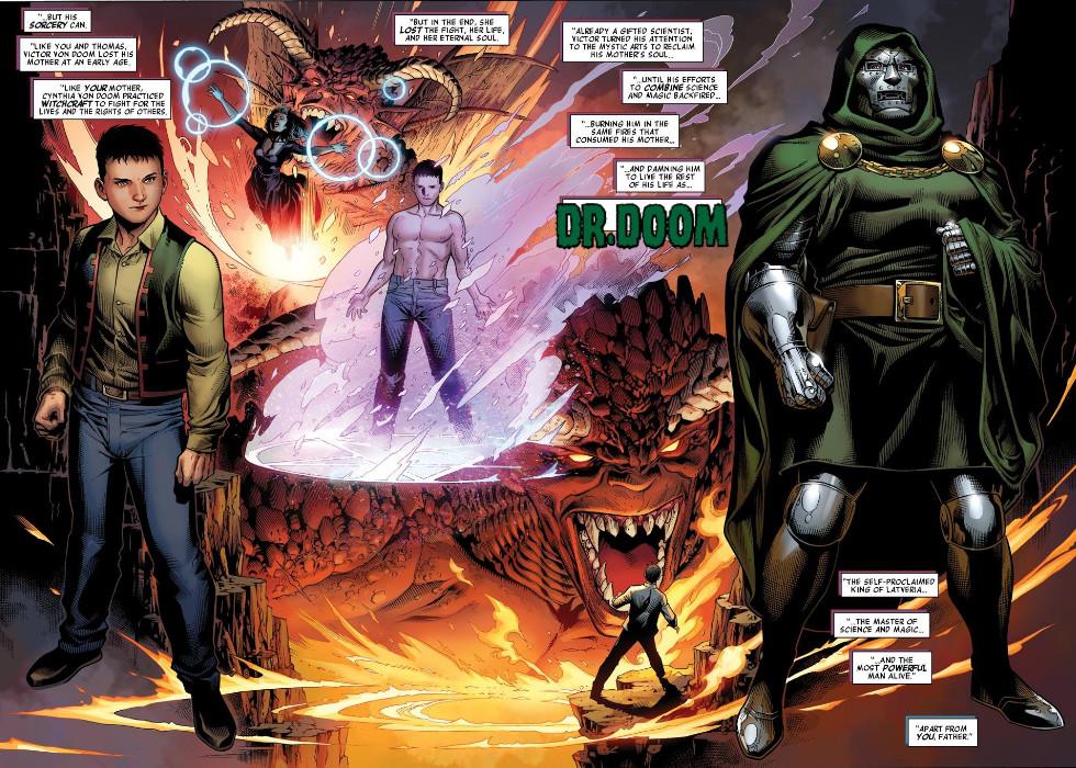 Victor von Doom (Terra-616)/Galeria