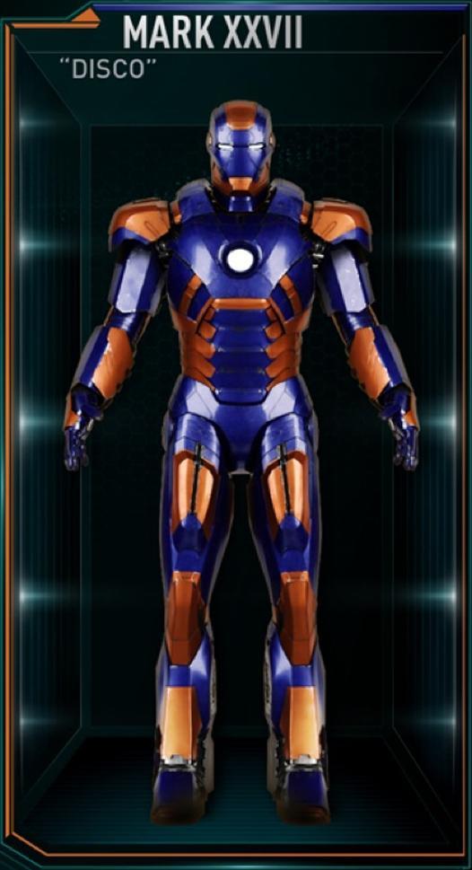 Armadura de Iron Man MK XXVII (Tierra-199999)