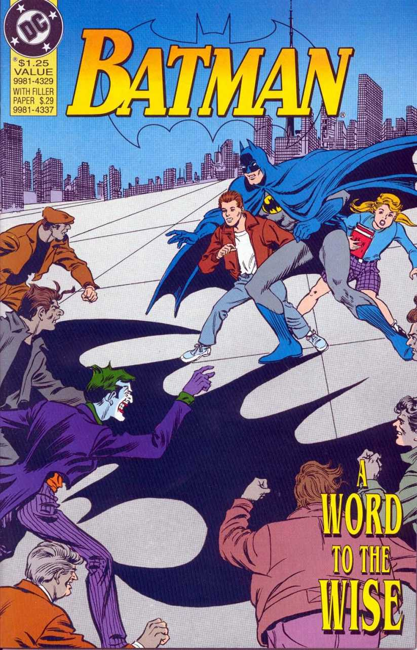 Batman: A Word to the Wise Vol 1 1