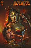 DCeased Vol 1 2 The Comic Mint Shannon Maer Variant