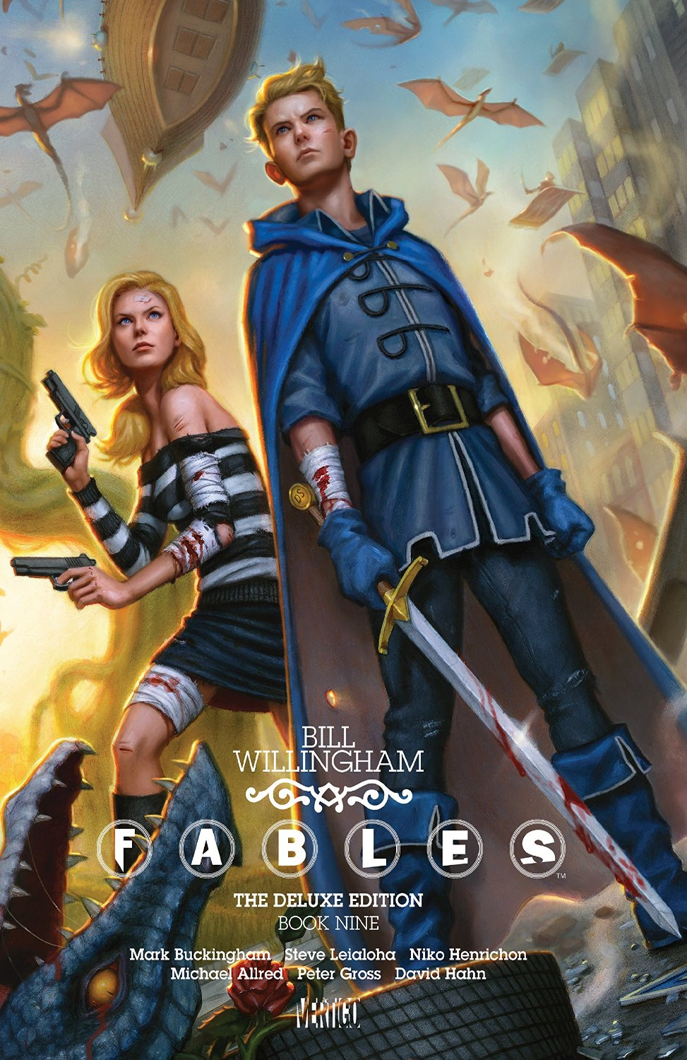 Fables: The Deluxe Edition - Book Nine (Collected)