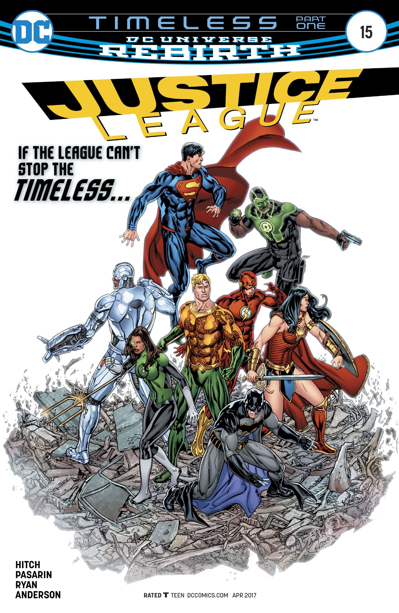 Justice League Vol 3 15