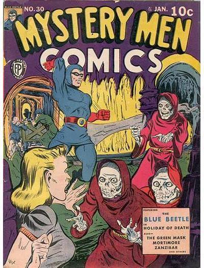 Mystery Men Comics Vol 1 30