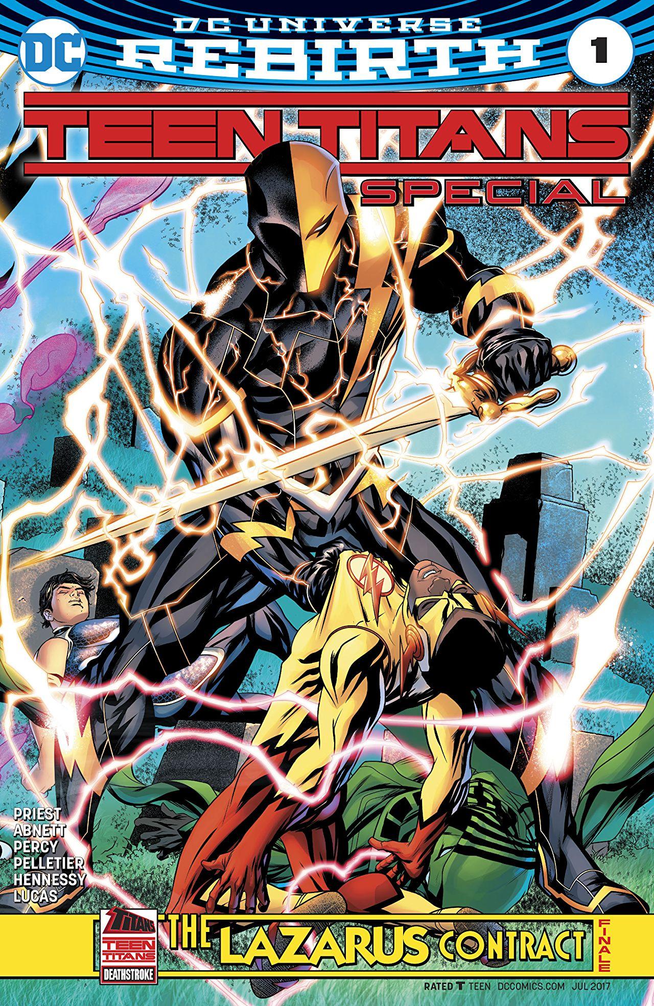 Teen Titans: The Lazarus Contract Special Vol 1 1