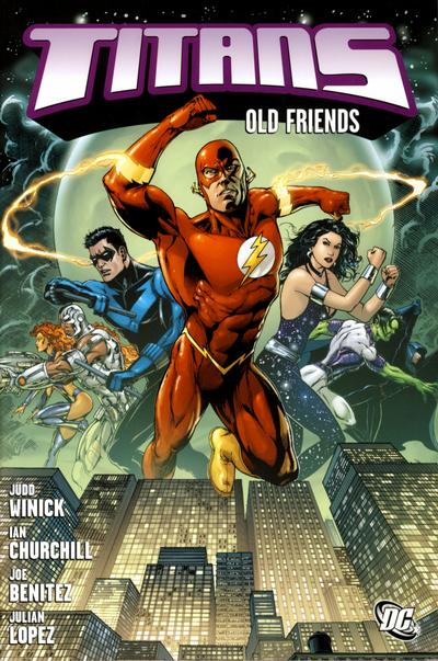 Titans: Old Friends (Collected)