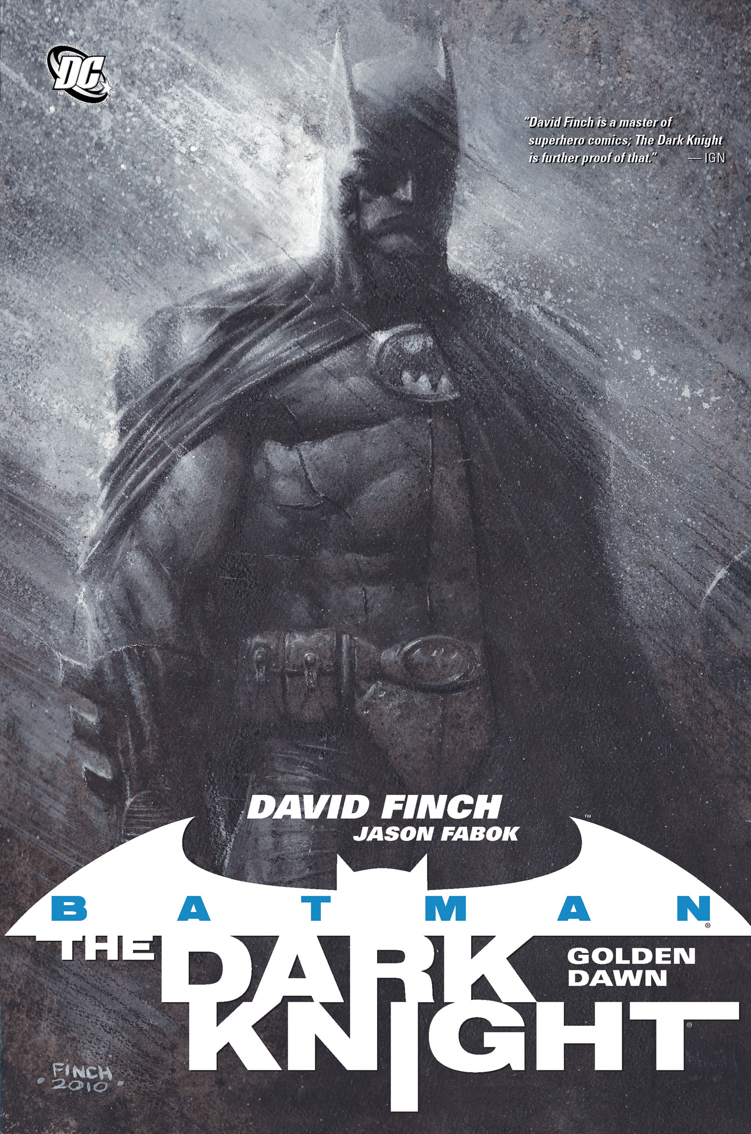 Batman: The Dark Knight Vol 1 - Golden Dawn (Collected)