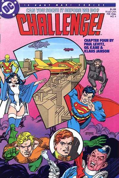 DC Challenge Vol 1 4