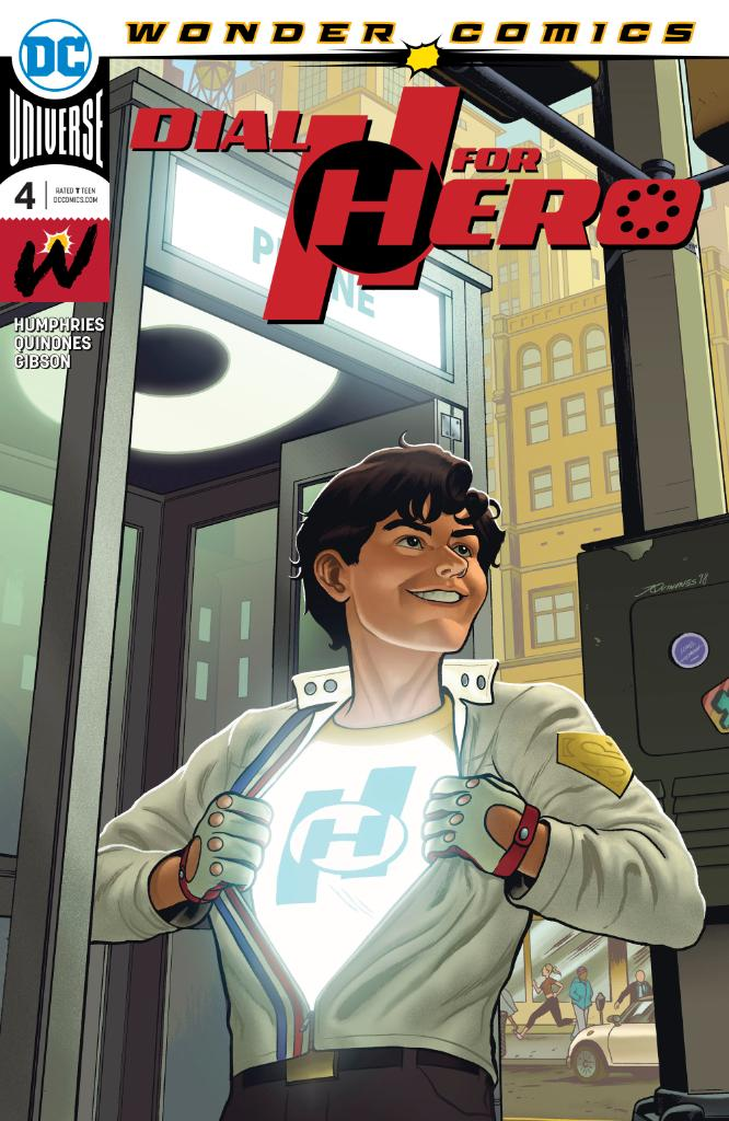 Dial H for Hero Vol 1 4