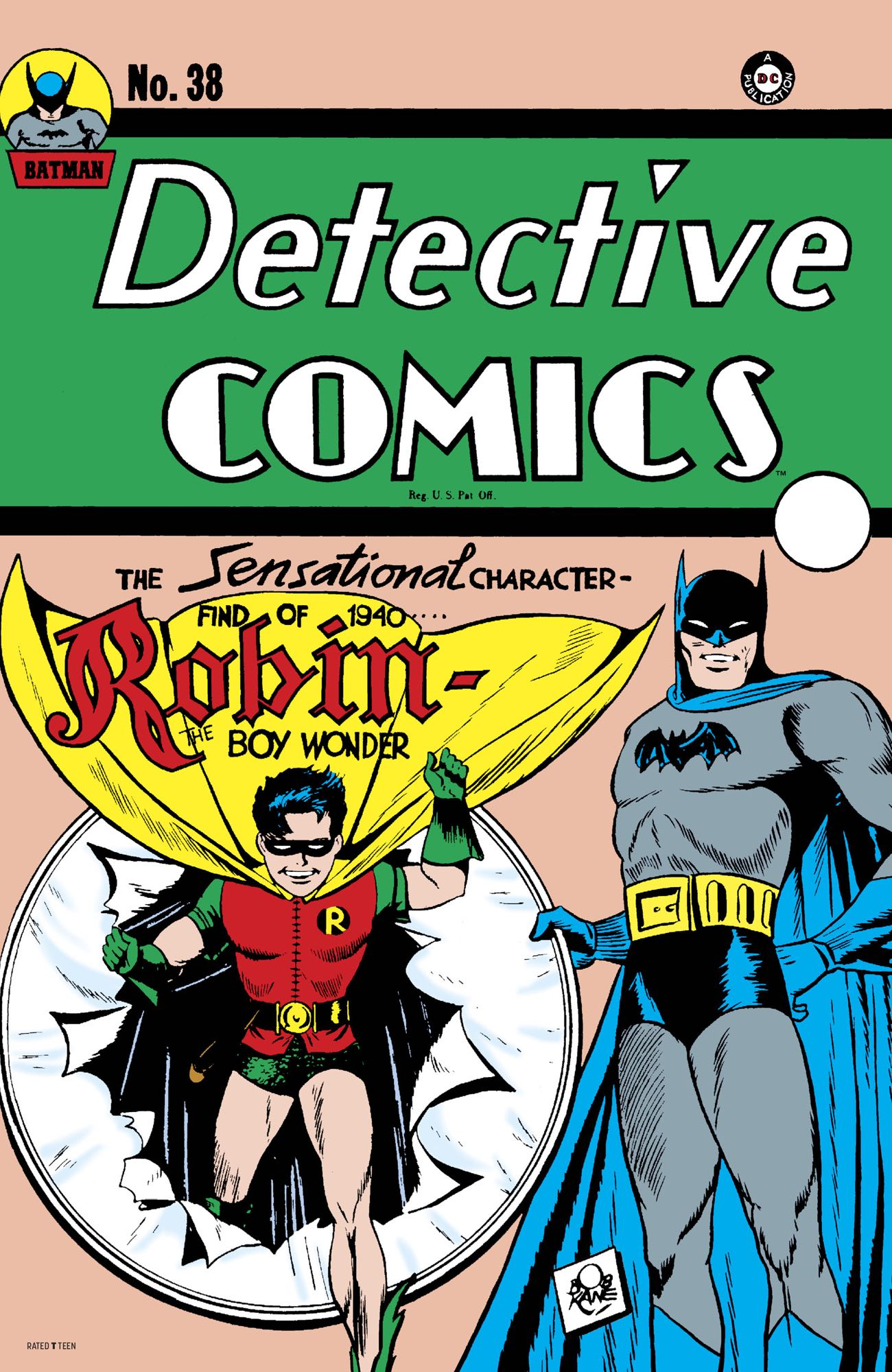 Facsimile Edition: Detective Comics Vol 1 38