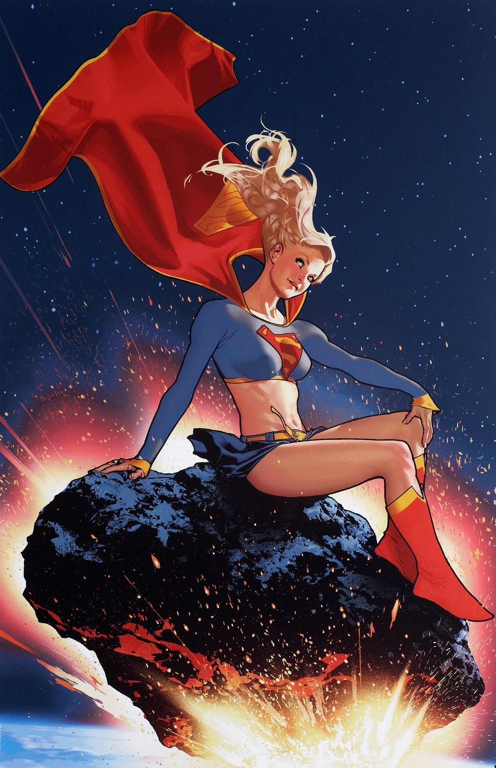 Supergirl and the Legion of Super-Heroes Vol 1 23 Textless Variant.jpg