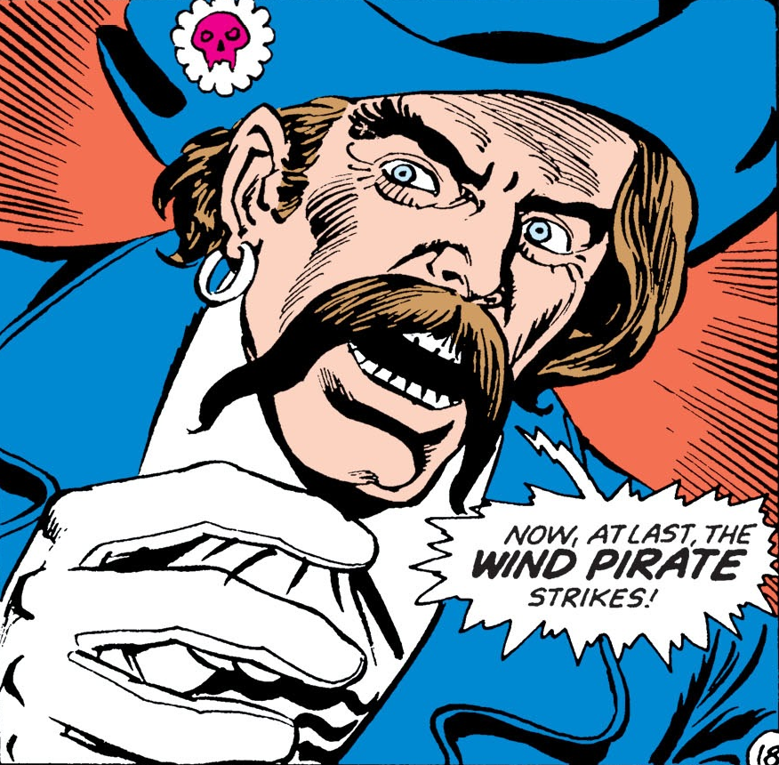Wind Pirate (Earth-One)