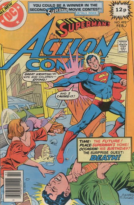 Action Comics Vol 1 492