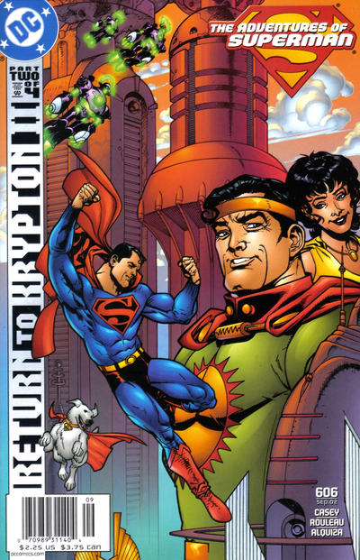 Adventures of Superman Vol 1 606